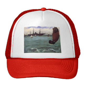Edouard Manet- Fishing boat coming in before wind Trucker Hat