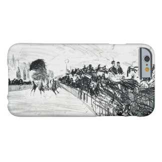 Edouard Manet - Les Courses Barely There iPhone 6 Case