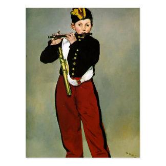 Edouard Manet- The Fifer Postcard