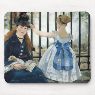 Edouard Manet - The Railway Mouse Pad