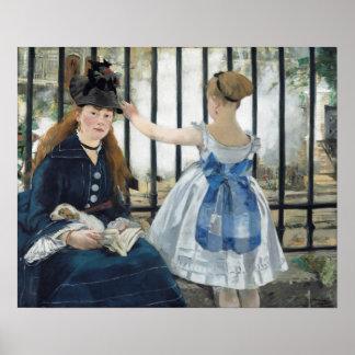 Édouard Manet: The Railway Poster