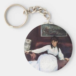 Edouard Manet-The Rest, portrait of Berthe Morisot Keychains