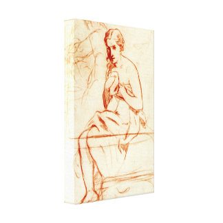Edouard Manet - Women at the Toilet Stretched Canvas Prints