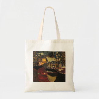 Edouard Vuillard- In front of a Tapestry Canvas Bags