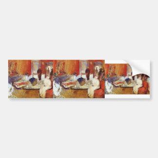 Edouard Vuillard- In the Red Room Bumper Stickers