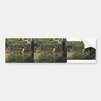 Edouard Vuillard- Square Berlioz Bumper Sticker