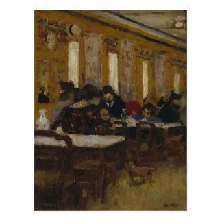 Edouard Vuillard- The Little Restaurant Postcard