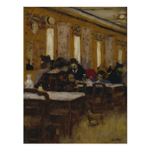 Edouard Vuillard- The Little Restaurant Post Cards