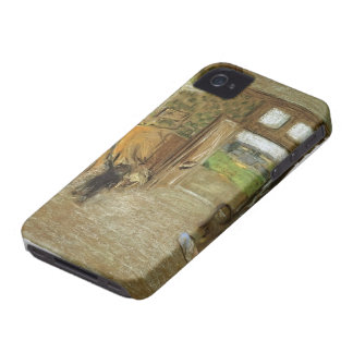 Edouard Vuillard:Vestibule at Saint Jacut mer iPhone 4 Case-Mate Case