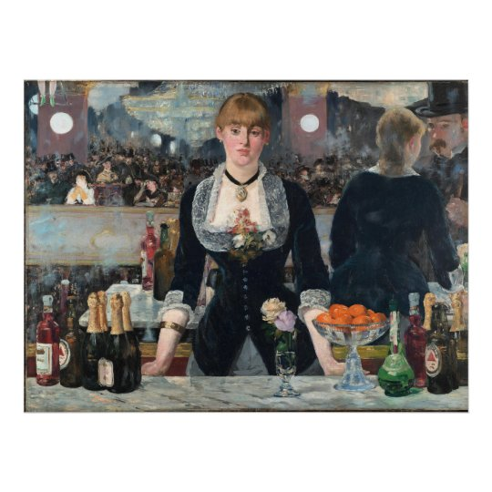 EDOUART MANET - A Bar at the Folies-Bergère