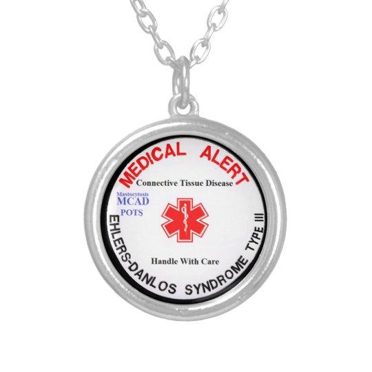 EDS 3 POTS MCAD Medical Alert Necklace