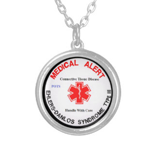EDS 3 POTS Medical Alert Necklace