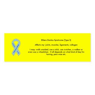 EDS Awareness Pack Of Skinny Business Cards
