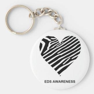 EDS awareness keyring Basic Round Button Key Ring