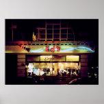 Ed's Diner in Soho London UK Poster