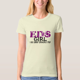 EDS Ehlers Danlos Girl Snap Crackle Pop Bones T-Shirt