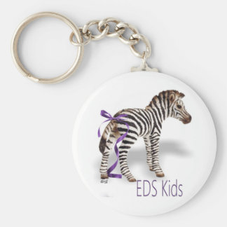 EDS Gifts Basic Round Button Key Ring