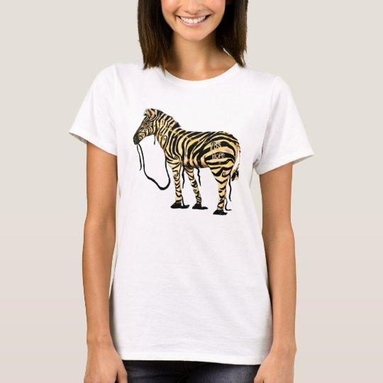 EDS Hope Zebra Womans T-shirt
