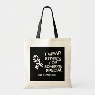 EDS I Wear Stripes for Someone Special Tote Bags