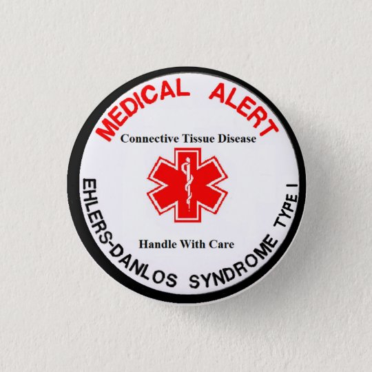 EDS Type 1 Medical Alert Button