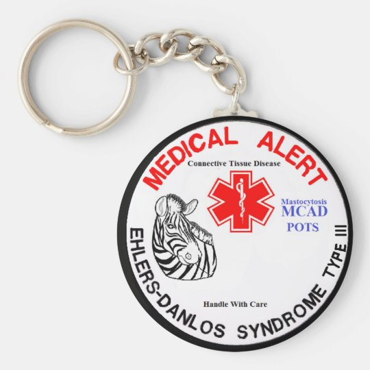 EDS Type 3 with POTS MCAD Medical Alert