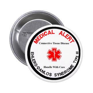 EDS Type III Medical Alert Button