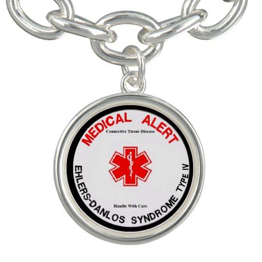 EDS VEDS IV Medical Alert Charm