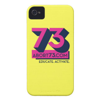 Educate. Activate. / Abort73.com Case-Mate iPhone 4 Case