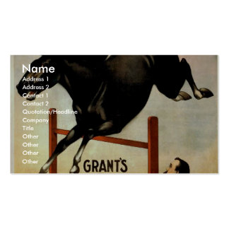 Educated Horses Business Cards