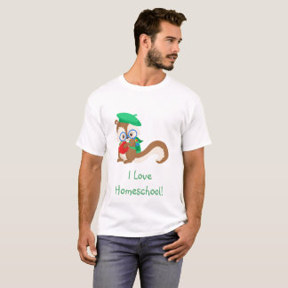 Educated Squirrel T-Shirt