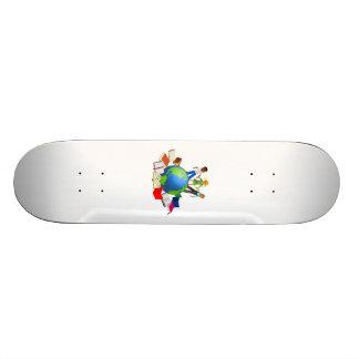Education Around the World Skate Board Decks