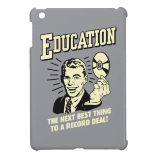 Education: Best Thing Record Deal Cover For The iPad Mini