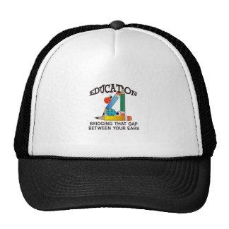 EDUCATION BRIDGING GAP TRUCKER HAT