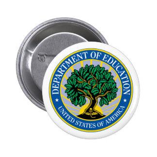 Education Department Seal 6 Cm Round Badge