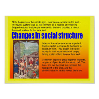 Education, History,  Medieval, Social Change Poster