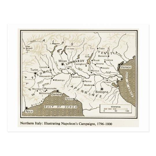 Education, History, Napoleon, Northern Italy 1796- Postcard