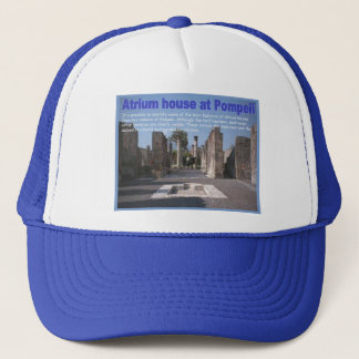 Education, History, Romans, Atrium house, Pompeii Trucker Hat