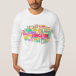 Education Industry for Children to Learn Tee Shirts