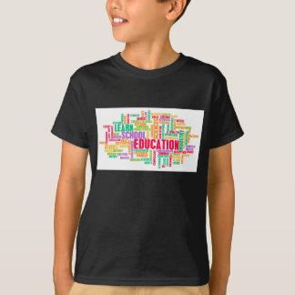 Education Industry for Children to Learn Tees