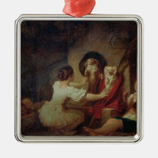 Education is All, c.1780 Christmas Ornament