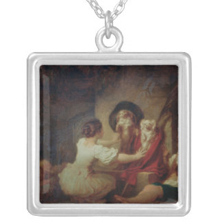 Education is All, c.1780 Silver Plated Necklace