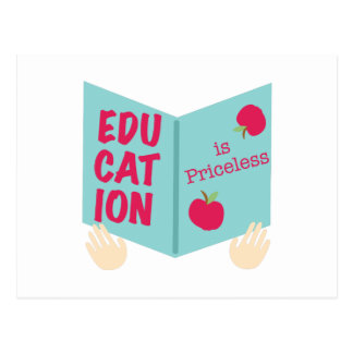 Education Is Priceless Postcard