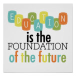 Education is the Foundation Poster