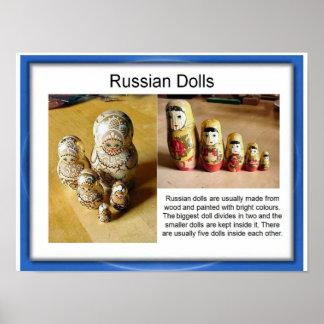 Education,  Lifeskills,  Toys, Russian dolls Poster