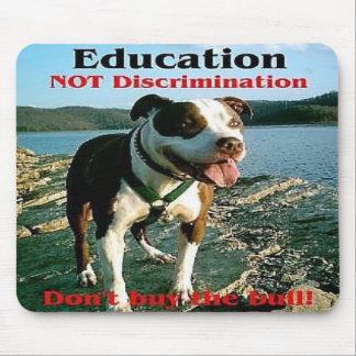 Education not Discrimination mousepad