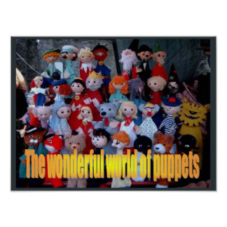 Education, Performing Arts,World of puppets Poster