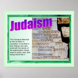 Education,  Religion, Judaism, Holocaust Memorial Poster
