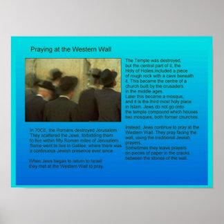 Education,  Religion,  Judaism, Prayer Poster