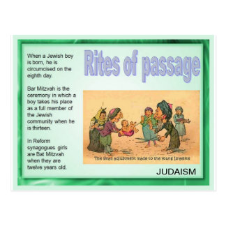 the rite of passage in judaism Since the 1970s, the adult bar and bat mitzvah have been growing in popularity goldberg, harvey e rites of passage: jewish rites encyclopedia of religion.