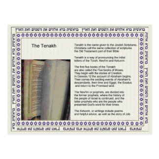 Education,  Religion,  Judaism, Tenakh Postcard